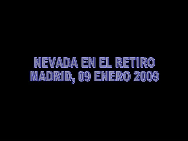 Gran Nevada en Madrid
