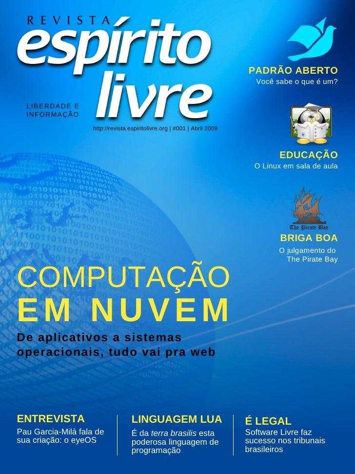 Revista Espirito Livre 001
