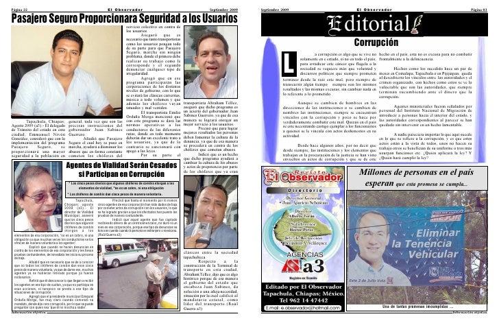 Edicion de Septiembre 2009