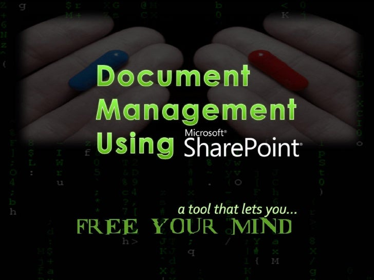 Document Management Using SharePoint