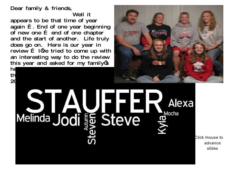 2009 stauffer style
