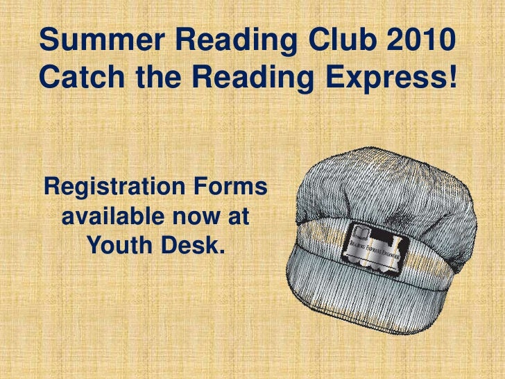 Summer Reading Club- July 2010 Events