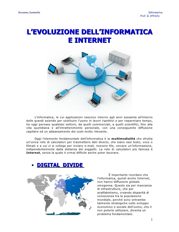 Giovanna Sommelle                                                                            Informatica                  ...