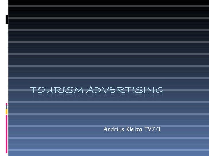 tourism advetising