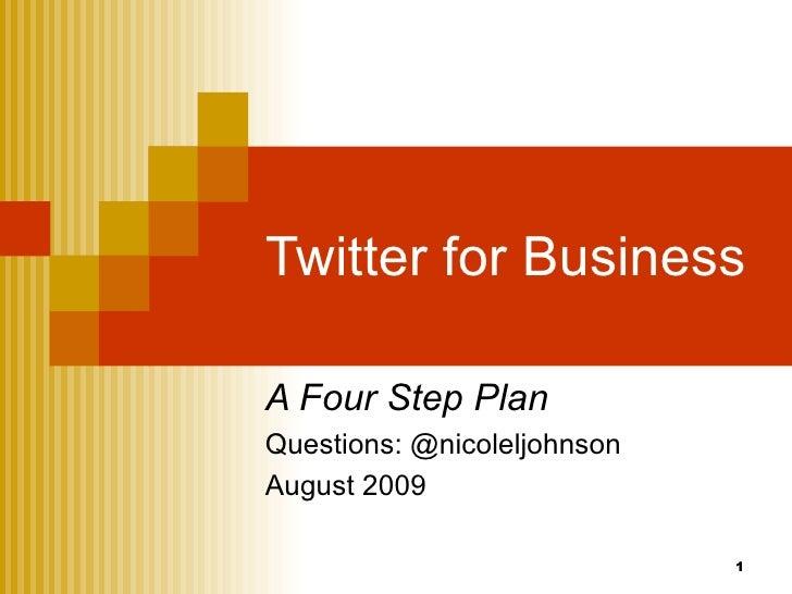 Twitter for Business Tutorials