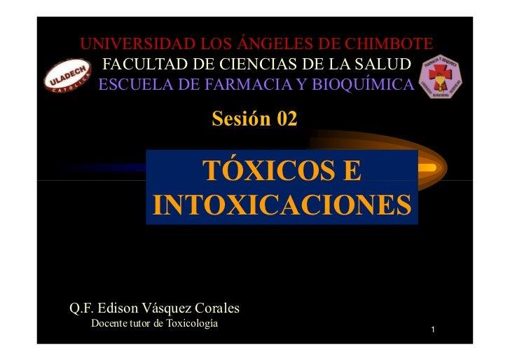 C:\Fakepath\TóXicos E Intoxicaciones Sesion 02 Edivas