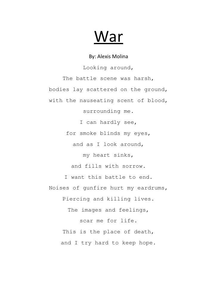 World war 1 poetry essay << Coursework Academic Service