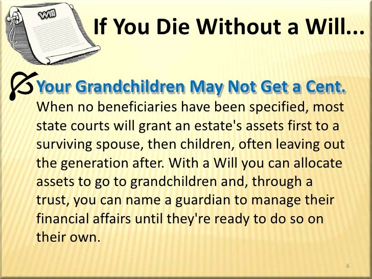 Get a will