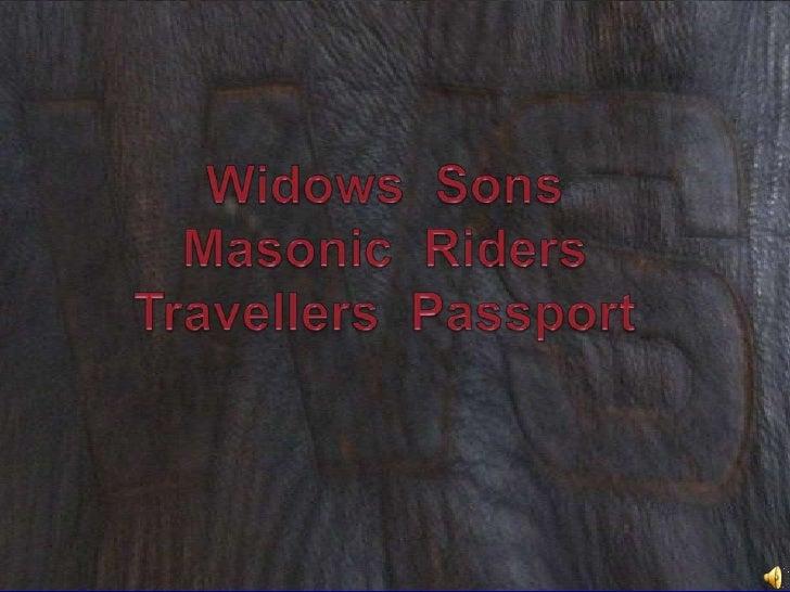C:\Fakepath\Widows Sons Riders Travellers Passport, The Secret Vault