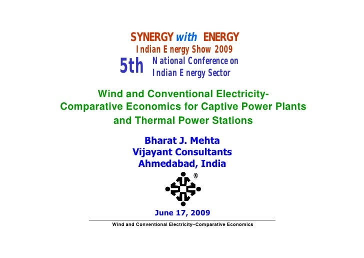 SYNERGY with ENERGY                   Indian Energy Show 2009                       National Conference on            5th ...
