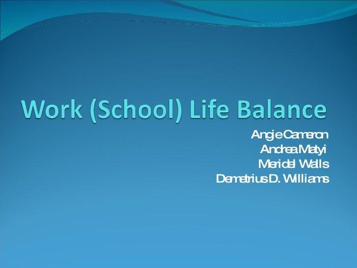 Fakepath Work  School  Life BalanceBalance Life And School