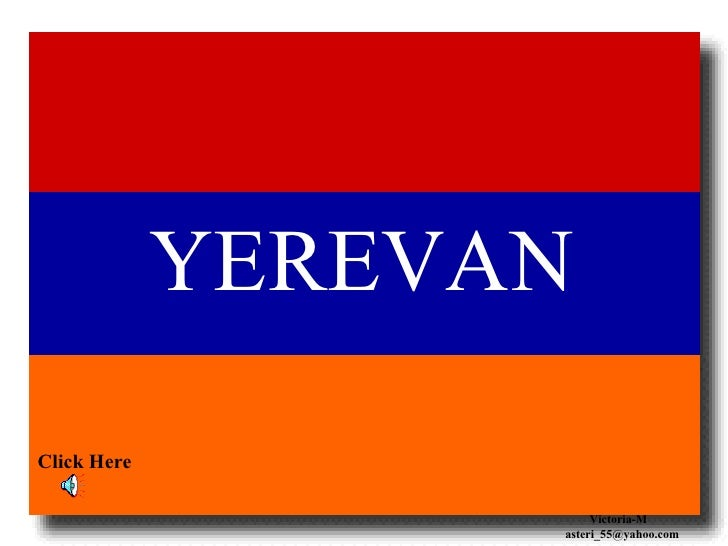 YEREVAN, Arménie