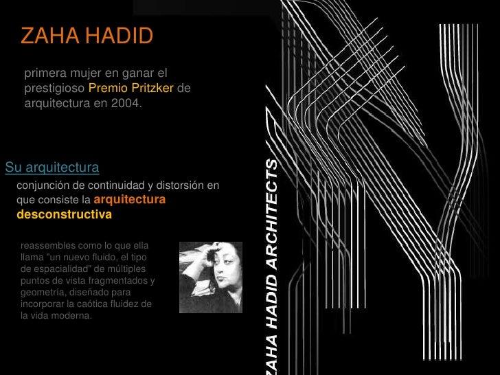 Zaha hadid proceso de dise o for En que consiste la arquitectura