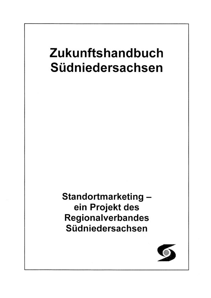 Zukunftshandbuch Suedniedersachsen