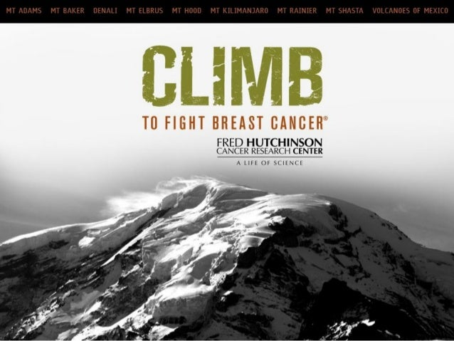 Climb to Fight Breast Cancer Recruitment