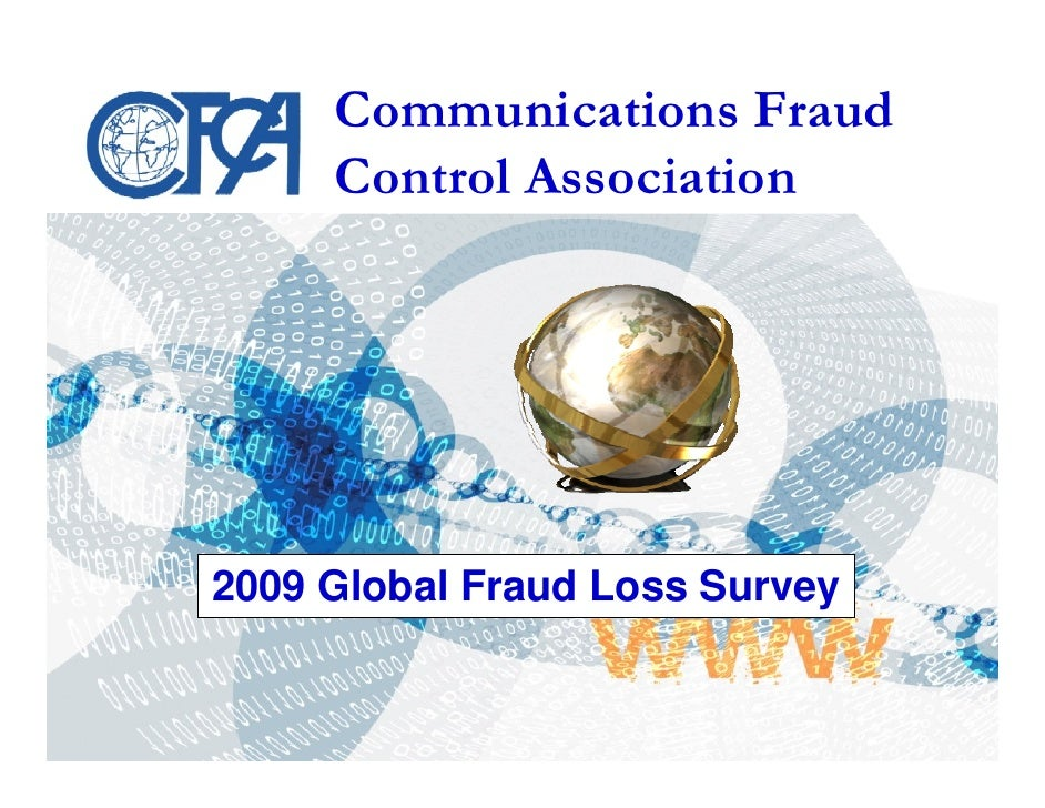 Cfca Global Fraud Loss Survey2009