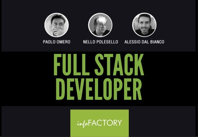 Full Stack Developer ACADEMY - infoFACTORY