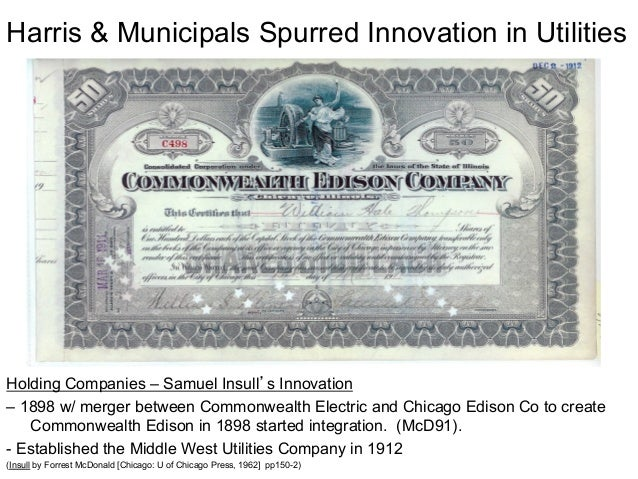 middle west utilities company samuel
