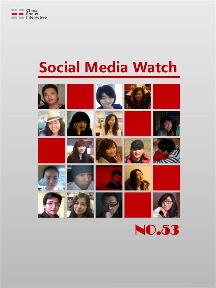 Social Media Watch            NO.53