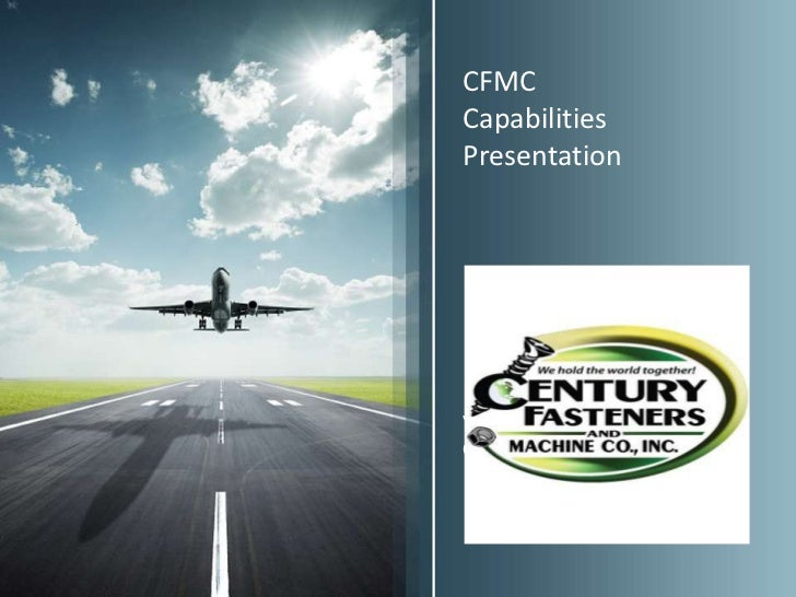 CFMCCapabilitiesPresentationYour Name and Job PositionGoes Here