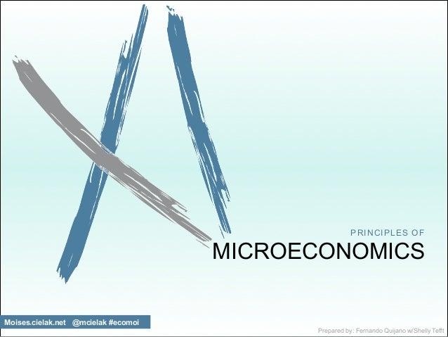 PRINCIPLES OF  MICROECONOMICS  Moises.cielak.net @mcielak #ecomoi  Prepared by: Fernando Quijano w/Shelly Tefft