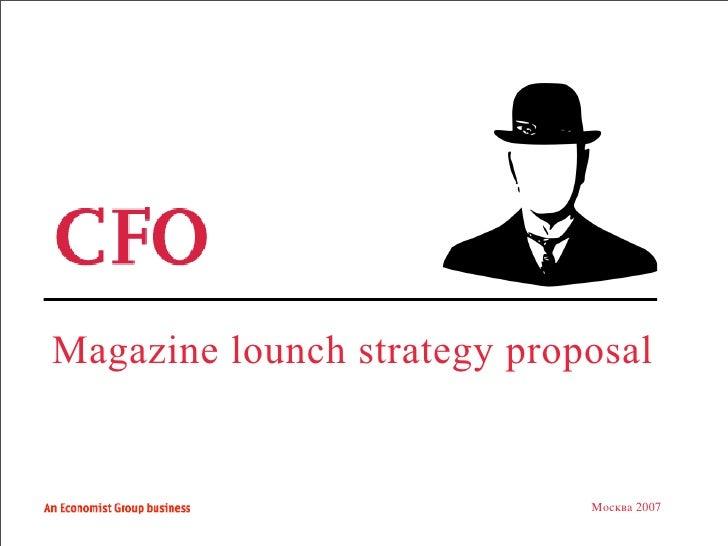 Magazine presentation