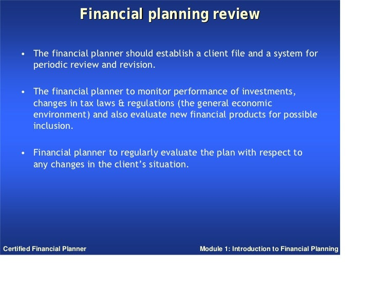 introduction to financial planning book pdf