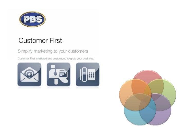 Customer First Presentation 2012