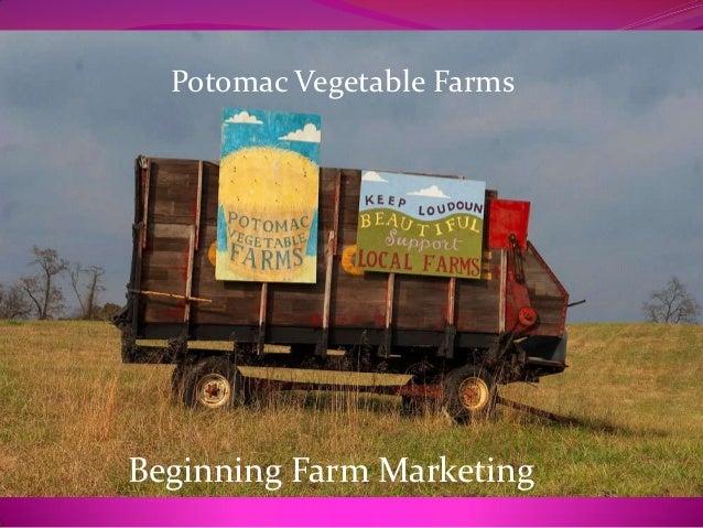 Potomac Vegetable FarmsBeginning Farm Marketing