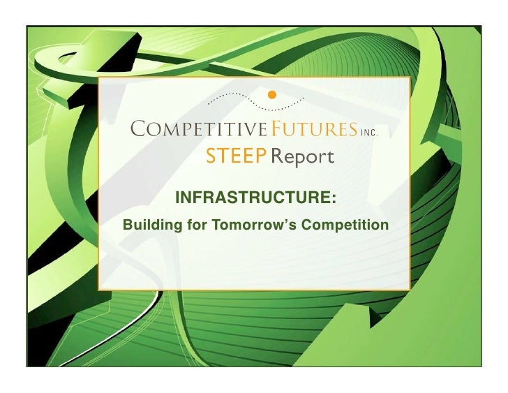 STEEP Report: Future of Infrastructure