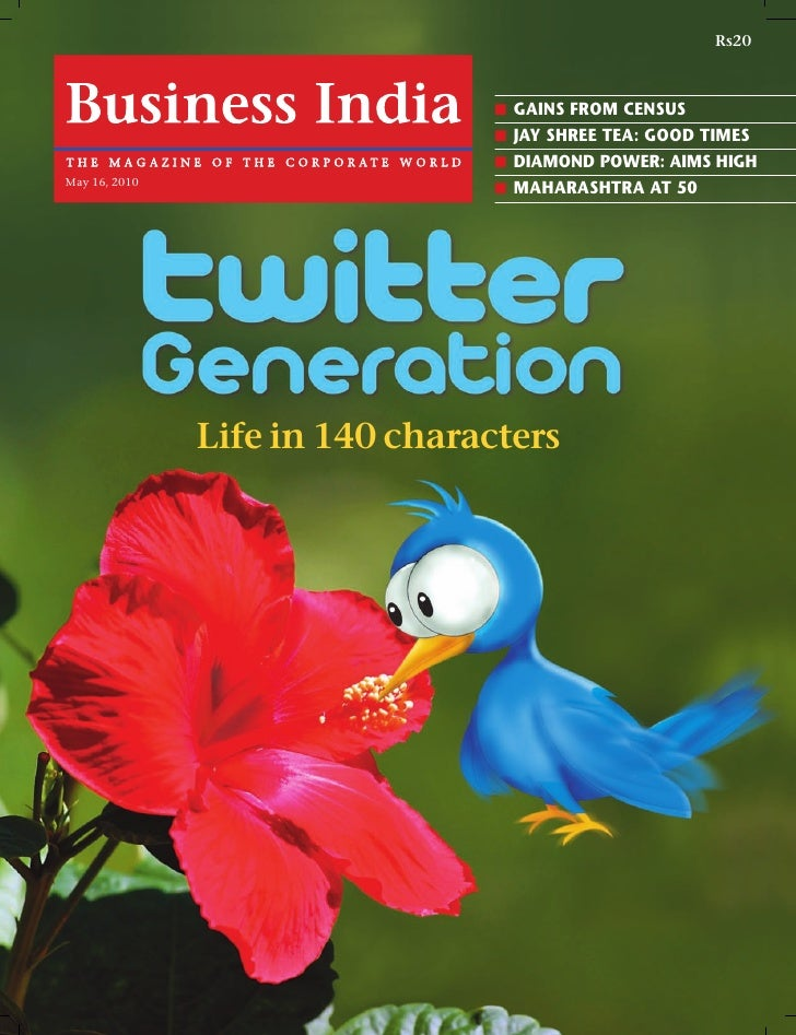 Business India May 2010 - Twitter Cover Story