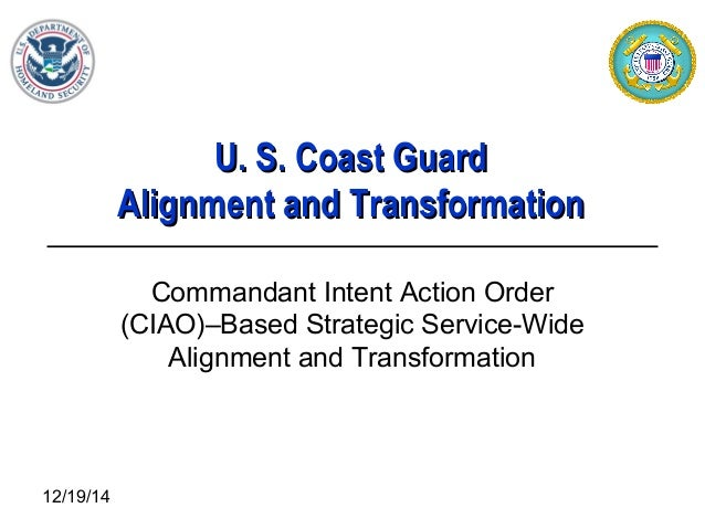 CG CIAO-Based Strategic Transformation Overview Brief 20070301