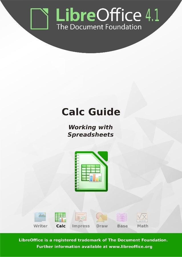 Manual de Libre Office Calc
