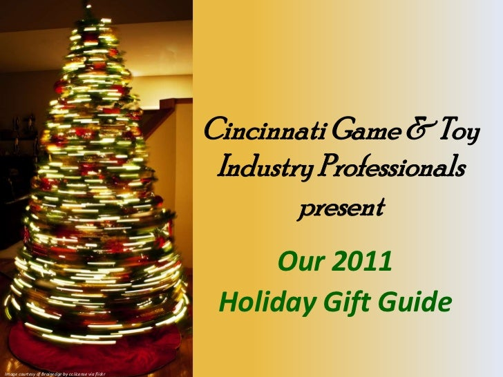C Gand Tip 2011 Holiday Gift Guide