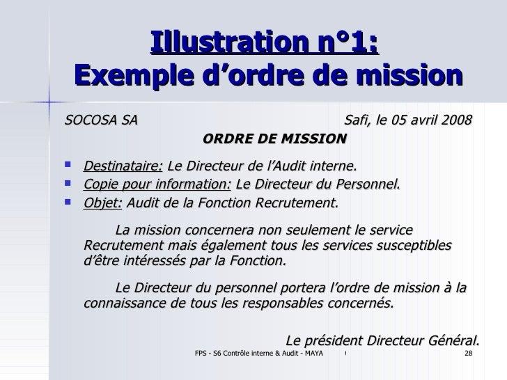 Lexeek  LES MODELES DES ORDRE DE MISSION