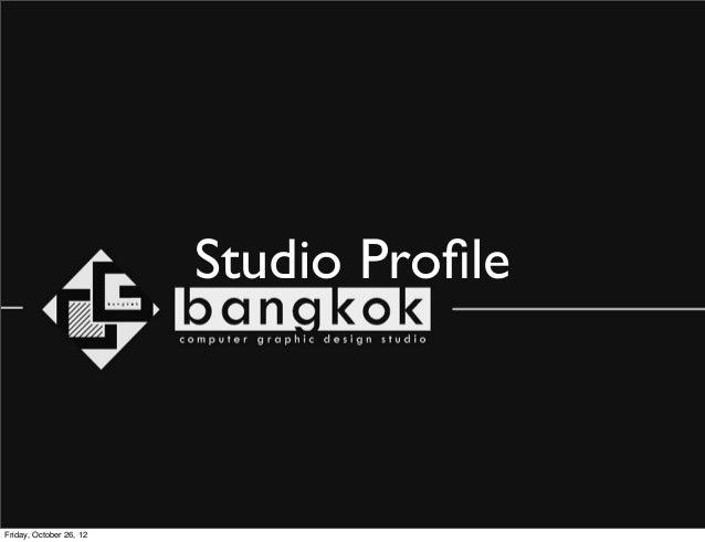 CGbangkok Design and Profile