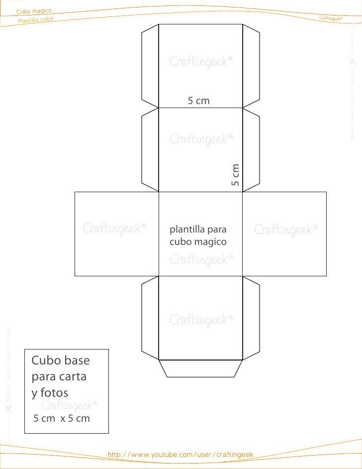 Cg cubo magico plantilla cubo for Cubo de luz para jardin