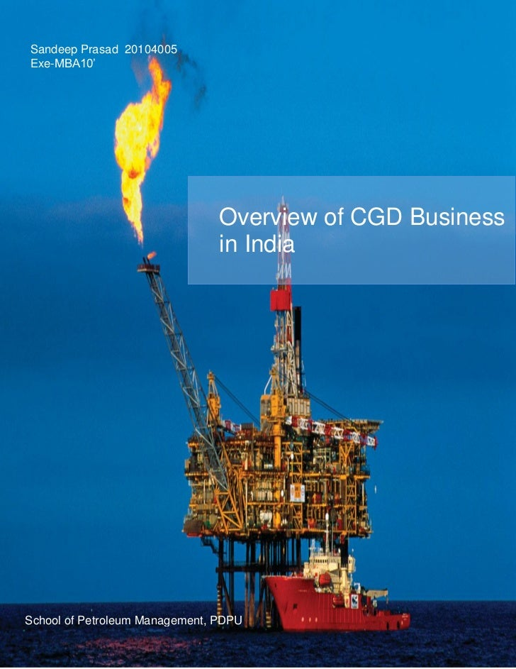 Sandeep Prasad 20104005Exe-MBA10'                                Overview of CGD Business                                i...