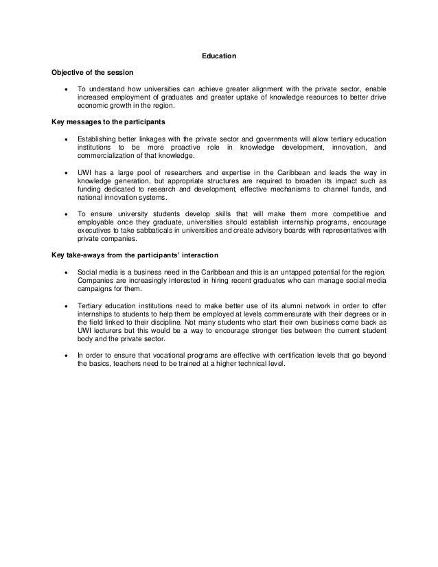 Cgf summary   education