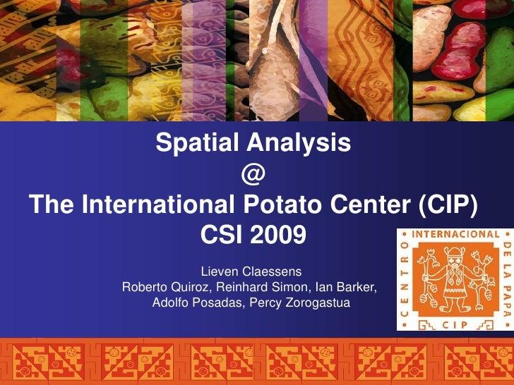 [Day 2] Center Presentation: CIP