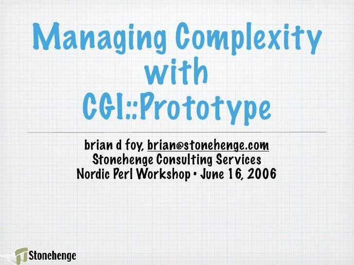 CGI::Prototype (NPW 2006)