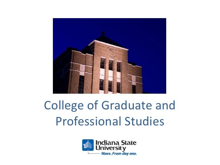 College of Graduate and Professional Studies<br />