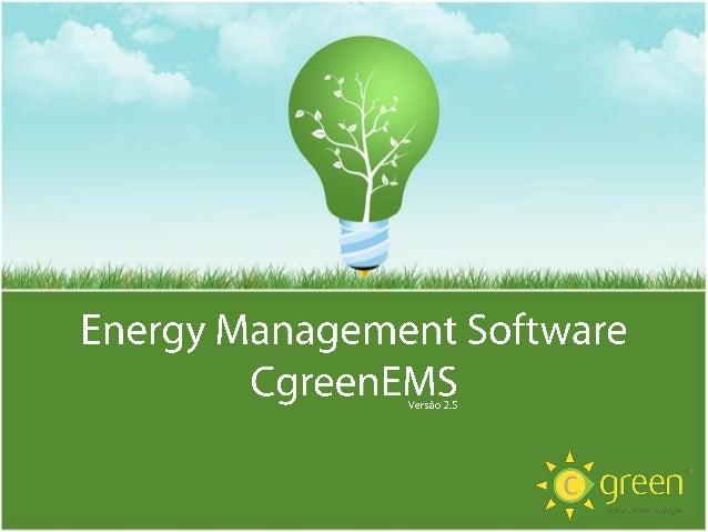O Aplicativo CgreenEMS é um Software de apoio à gestão de energia, que ajuda o cliente a gerir e a analisar o consumo, ger...