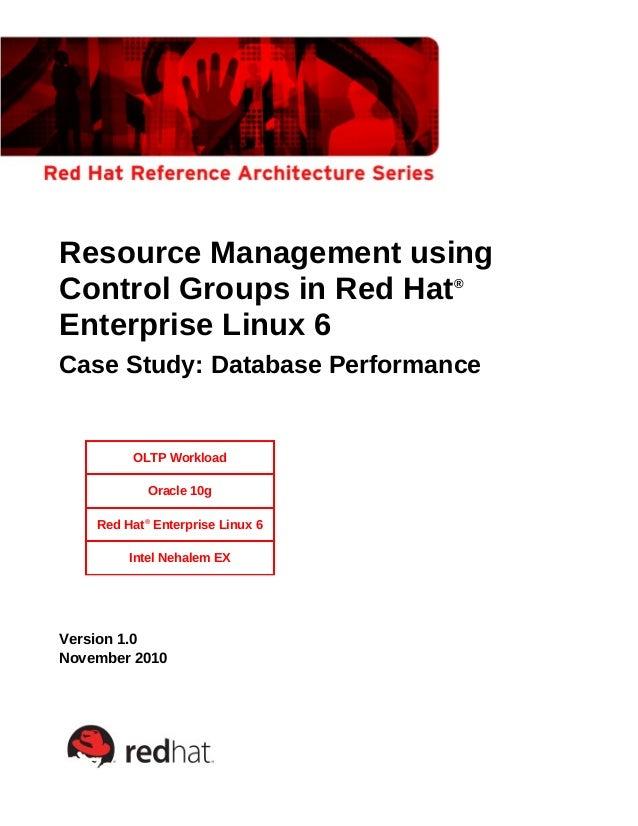 Cgroup resource mgmt_v1