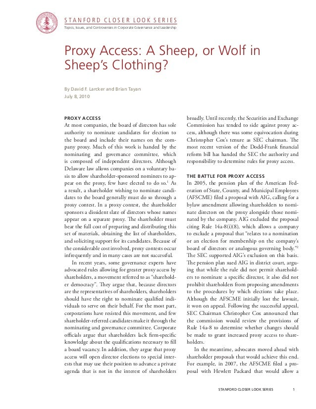 CGRP06 - Proxy Access: A Sheep, or Wolf in Sheep's Clothing?