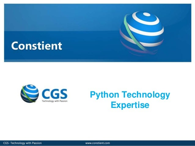 Python TechnologyExpertise