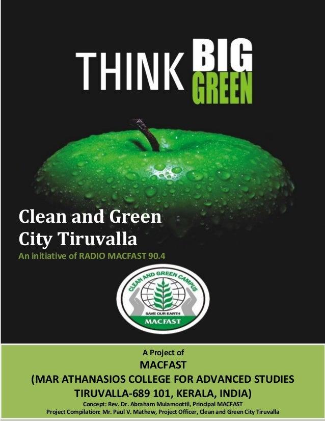 a green environment essay