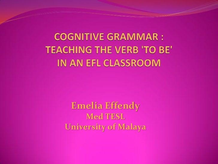 Emelia Effendy      Med TESL University of Malaya