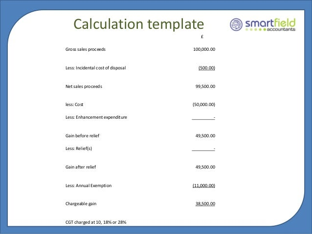 Capital gains tax example of capital gains tax calculation example of capital gains tax calculation images ibookread ePUb
