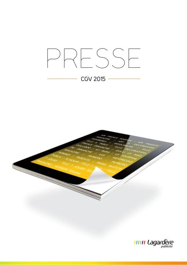 PRESSE  CGV 2015